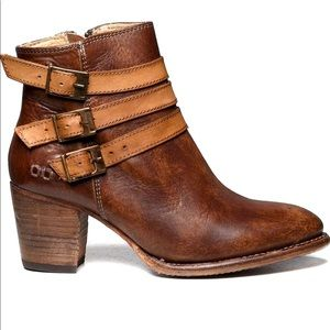 Bed Stu Women's Begin Leather Boot Size 10 GUC